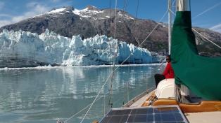 Margerie Glacier, Glacier Bay, Alaska. Photo Ray Penson