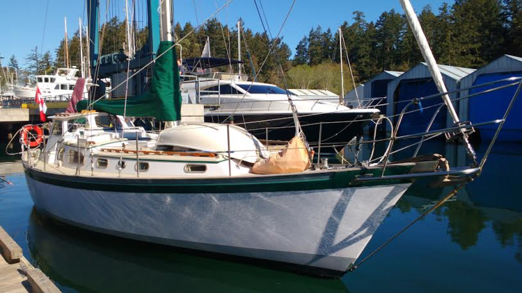 Yacht Truce at Canoe Cove Vancouver