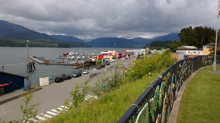 Cow Bay and Prince Rupert Yacht Club. Ray Penson