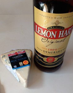 Lemon Hart Rum and Stilton Cheese.Photo Ray Penson