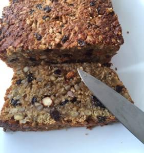 Scroggin Loaf. Super food. Photo N Penson