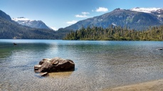 Baranof Lake above Warm Springs Bay. Photo Ray Penson