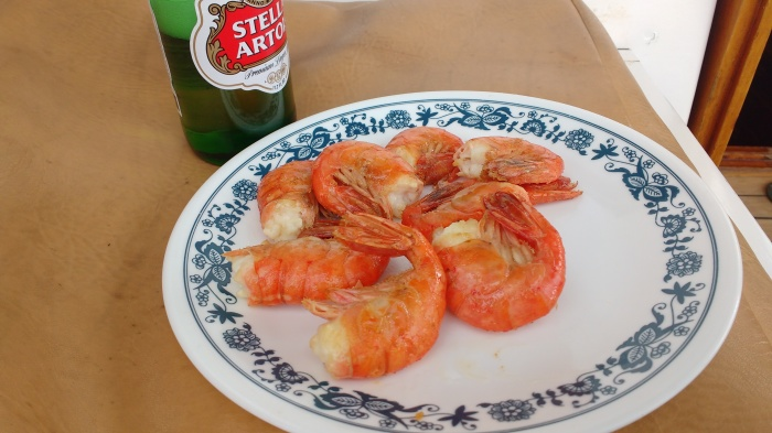 Fresh Alaska Shrimp the best. Phoro Ray Penson