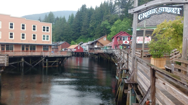 Old creek Street Ketchikan. Photo Ray Penson