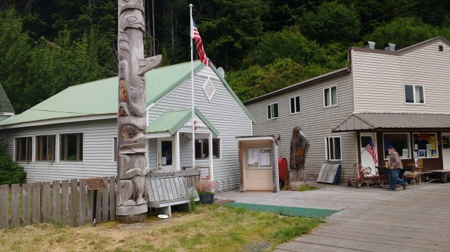 Pelican City hall Alaska. Photo Ray Penson