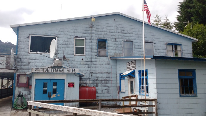 Pelican Post Office, Alaska. Photo Ray Penson