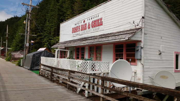 The World Famous Bar, Pelican. Alaska. Ray Penson