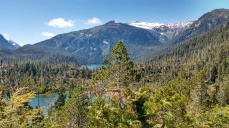 View from trail behind Warm Springs Bay. Photo Ray Penson
