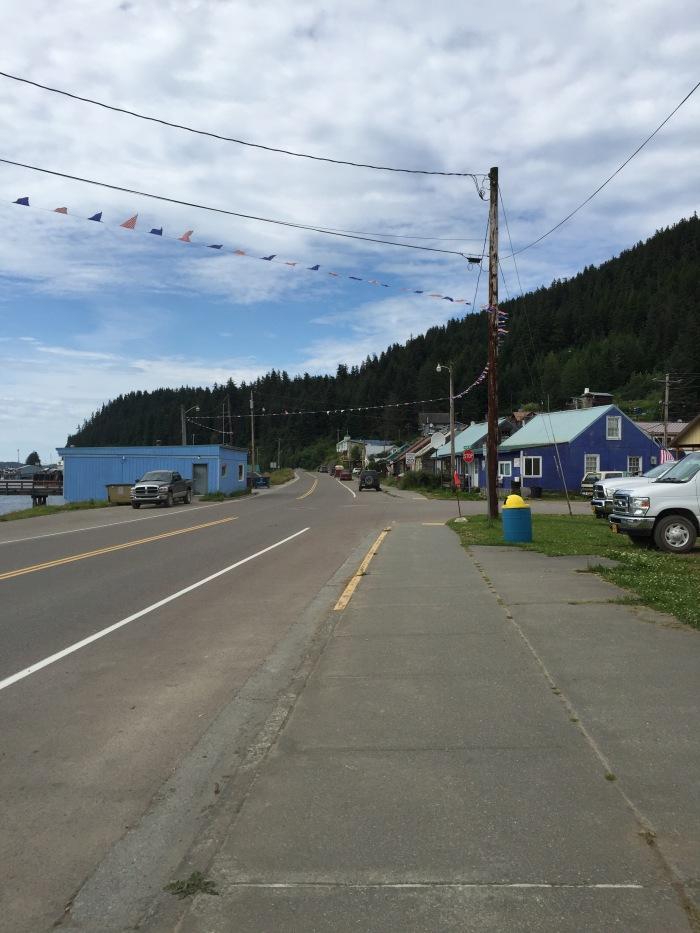 Town centre, Hoonah. Alaska