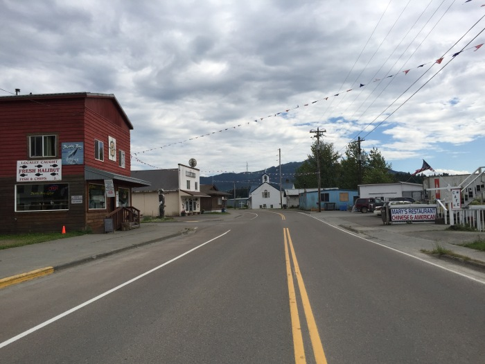 Hoonah Town centre. Photo Ray Penson