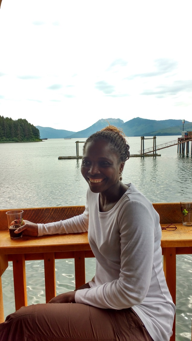 Ngozi at Icy Strait Brewing, Hoonah.