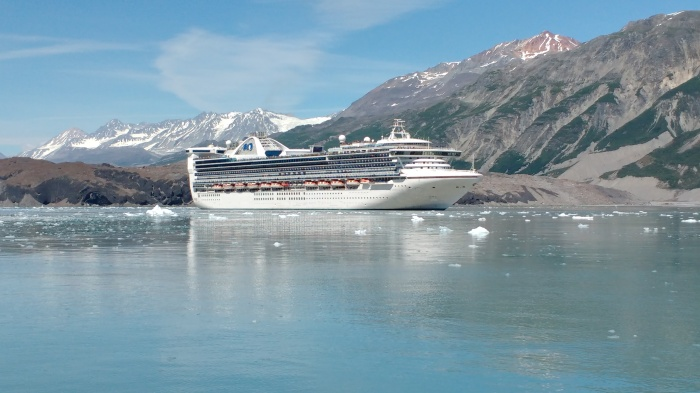 Star Princess in Glacier Bay. Photo Ray Penson