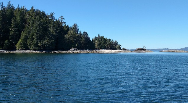 Clarke Island in Broken Group Barkley Sound. Photo Ray Penson jpg