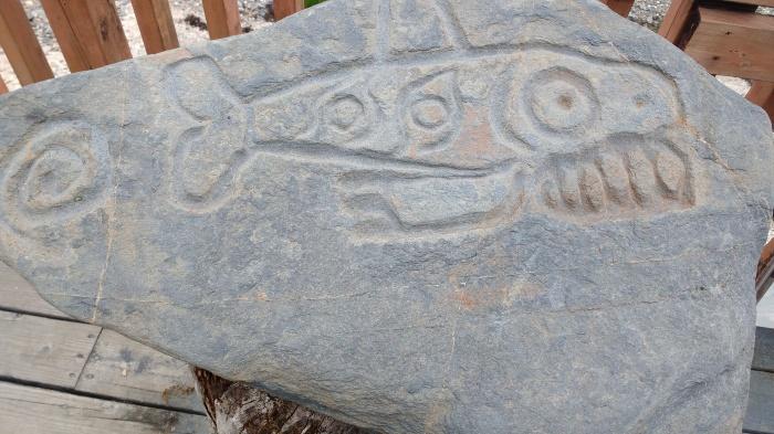 Petroglyph Beach Wrangell