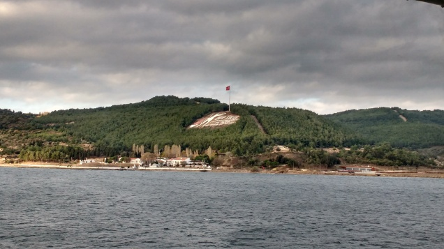 Castle at Canakkale. Photo Ray Penson