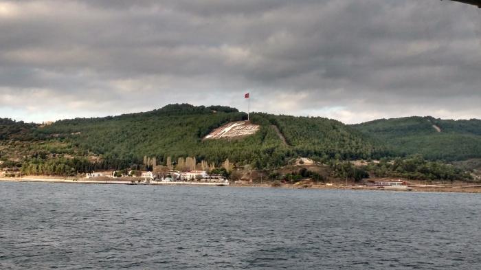 Castle at Canakkale. Photo Ray Penson