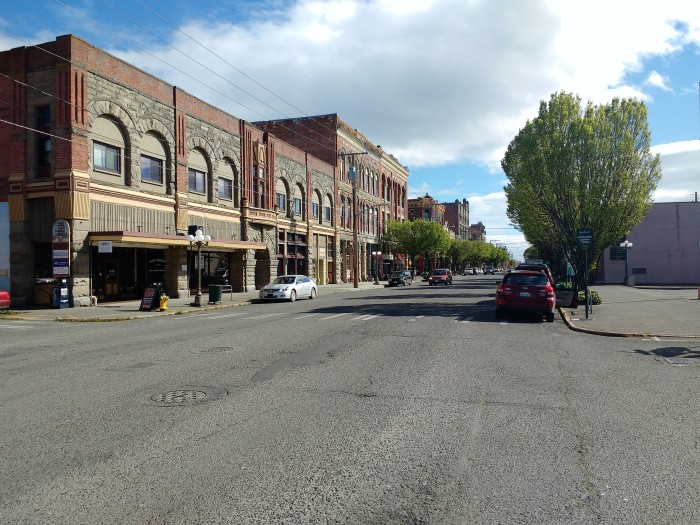 Downtown Port Townsend on a Sunday morning. Ray Penson