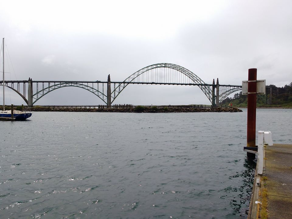 Harbour bridge Newport Oregon Photo Ray Penson