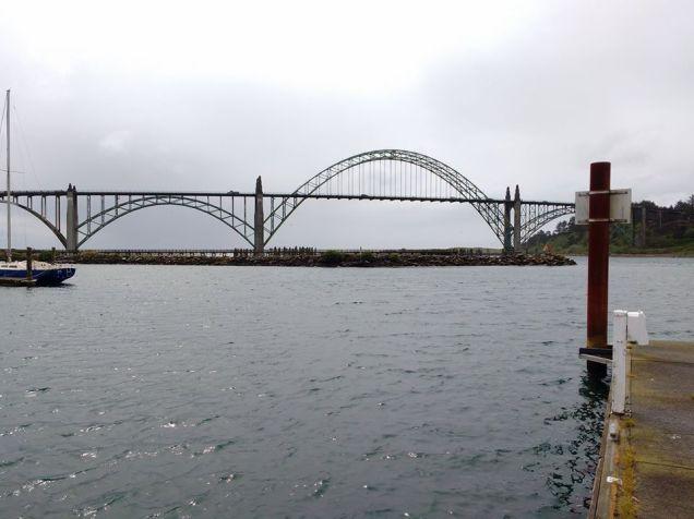 Harbour bridge Newport Oregon Photo Ray Penson