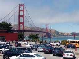 Golden Gate Bridge, San Fran. Photo, Ray Penson