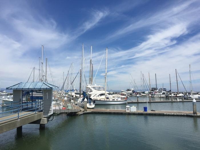Oakland Marina, Alameda. San Francisco.