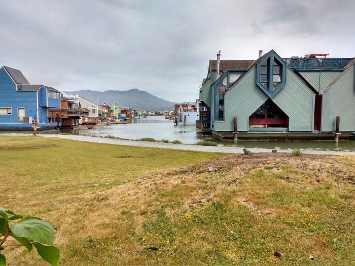 Sausalito Houseboats.Photo Ray Penson jpg