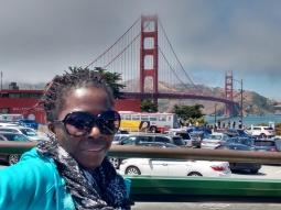 Golden Gate Bridge San Fransisco. Sunshine, Wind and Adventure.