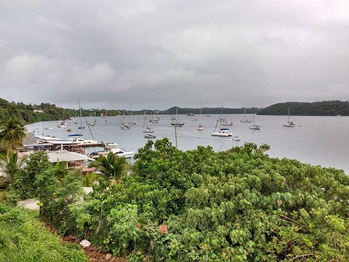 Wandering in Neiafu, Tonga