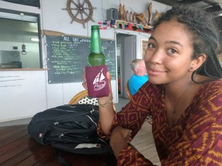 First refreshment in Tonga