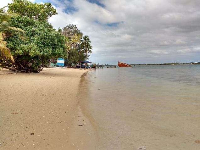 Pangaimoyu Resort Beach. Photo Ray Penson jpg
