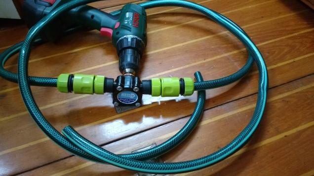 Jabsco Drill Pump - photo Ray Penson