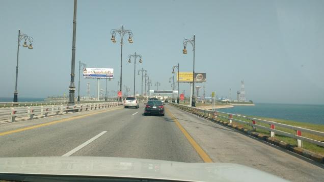 Approaching the Saudi Boarder Crossing. Photo Ray Penson. Sailing Yacht Truce