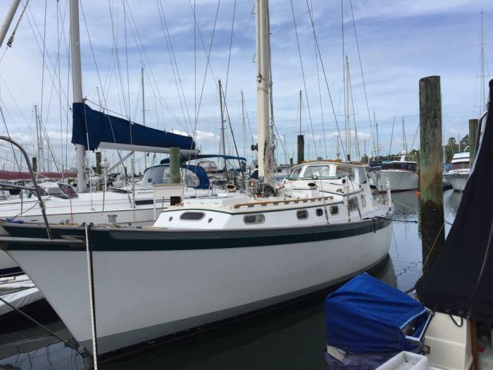 Truce nz. Sailing yacht truce 1