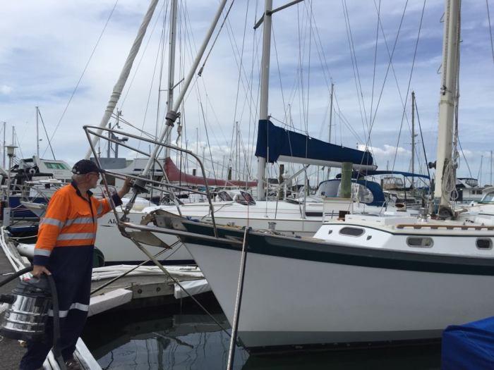 Truce nz. Sailing yacht truce 4