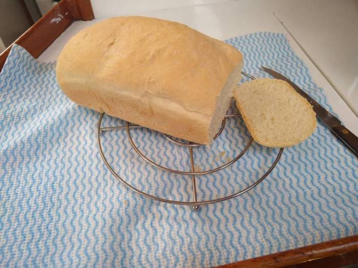 Baked fresh bread Photo Ray Penson