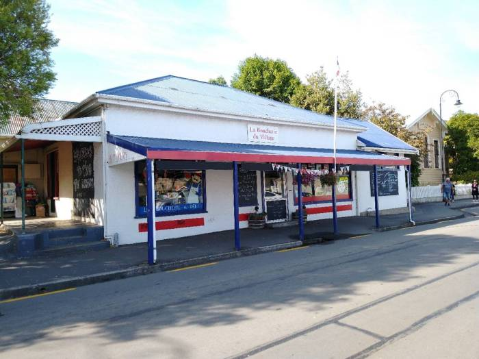 Butchers Shop Akaroa Photo Ray Penson