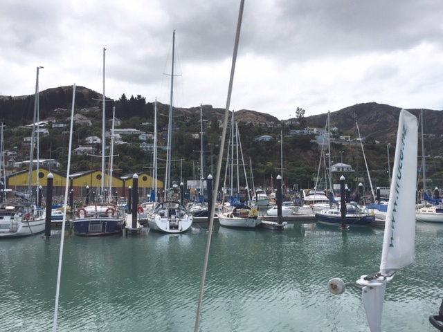 Lyttelton Marina Photo Ray Penson
