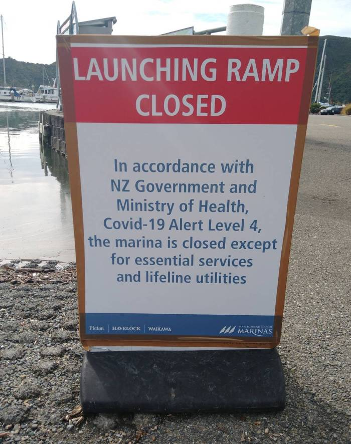 Restrictions on Recreational Boaties. Photo Ray Penson