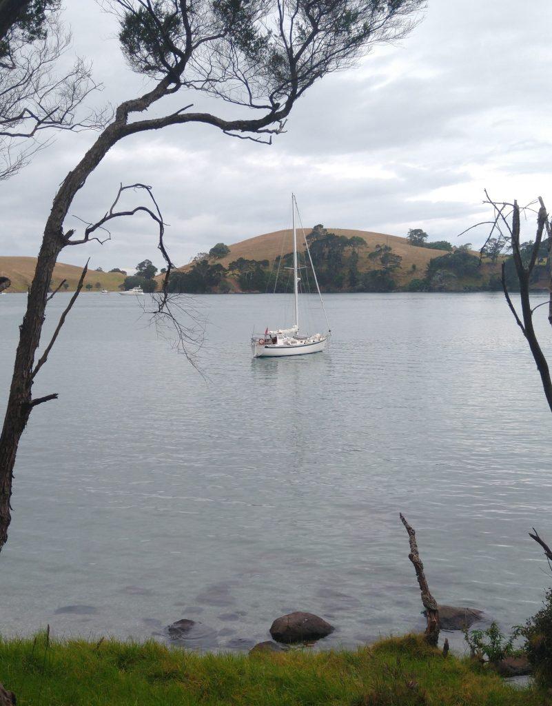 Truce at Ranger Bay, Te Kouma Harbour. Photo Ray Penson