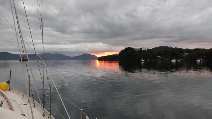 Sunset at Golden Bay. Photo Ngozi Penson