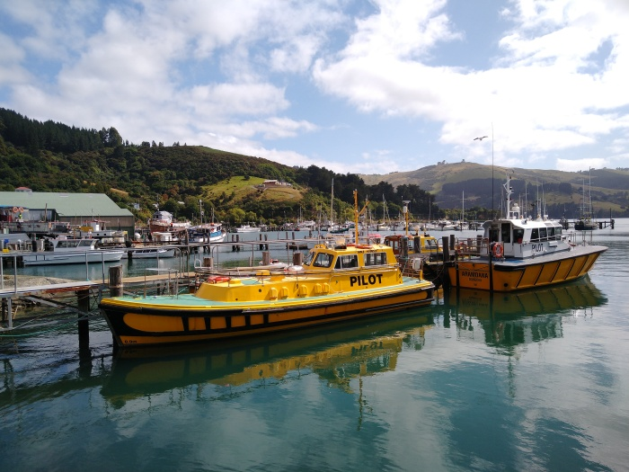 Pilot Boat Pen Port Chalmers. Photo Ray Penson