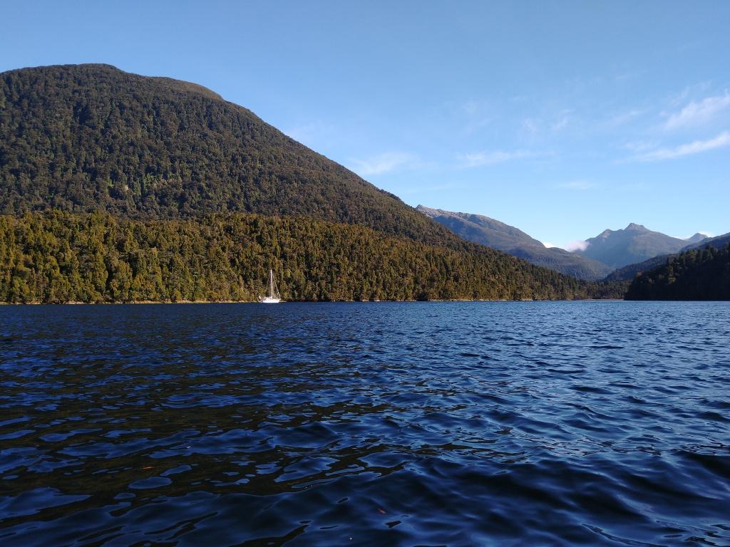 Lake Cove Anchorage. Photo Ray Penson