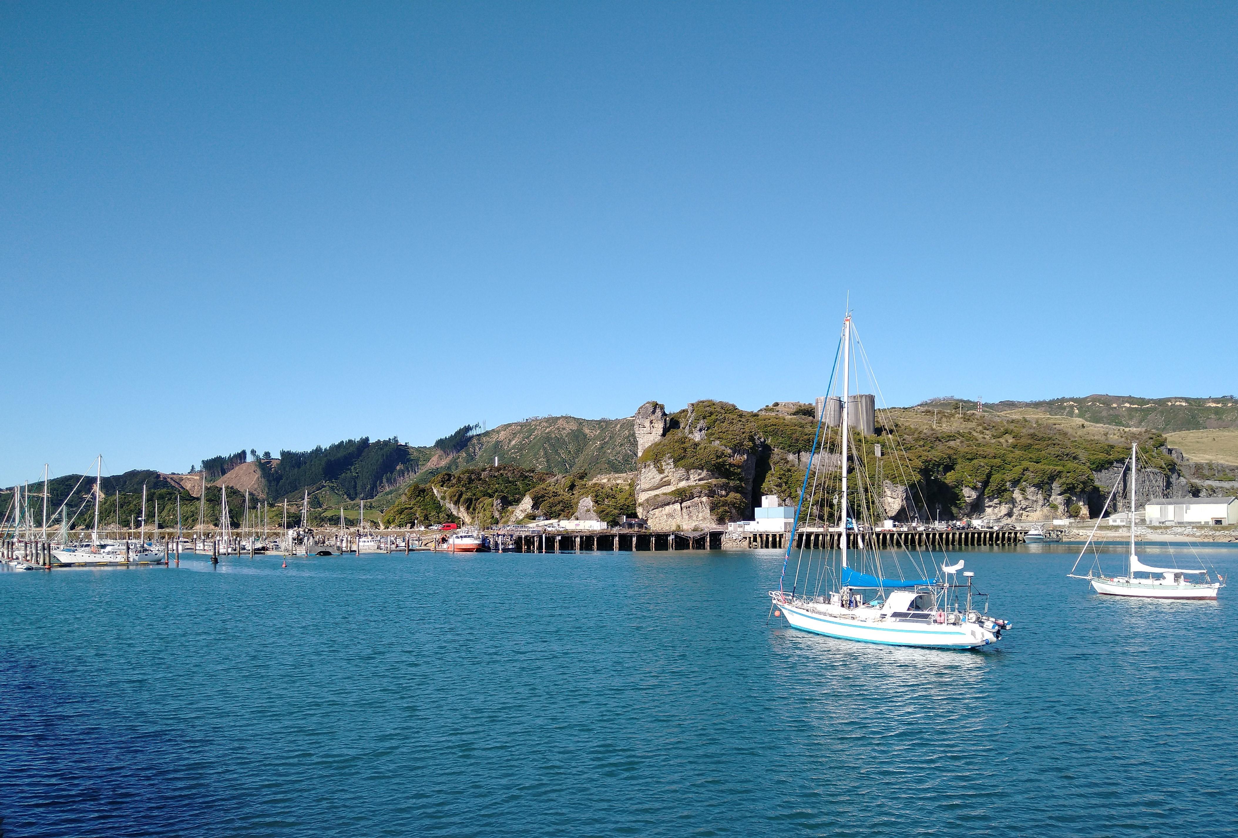 Tarakohe Harbour. Photo Ray Penson