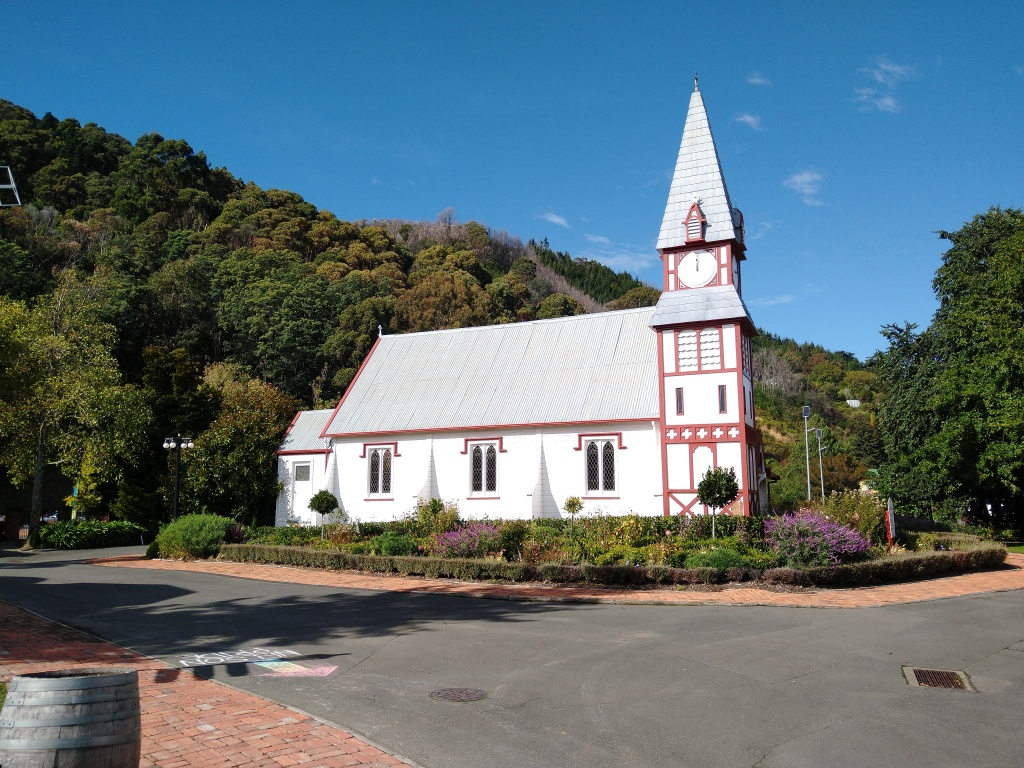 Relocated Church. Photo Ray Penson