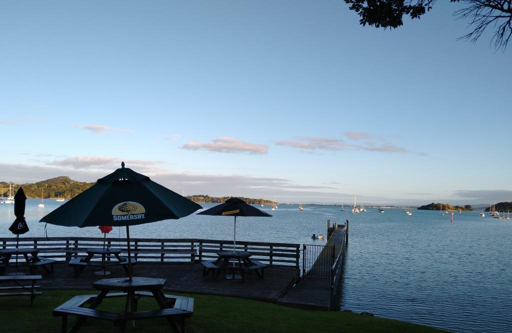 Parua Bay seen from Parua Bay Tavern. Photo Ray Penson